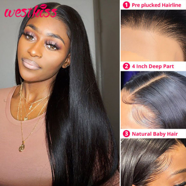 Straight Lace Part Wigs
