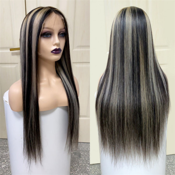 Black Wigs With Gray Highlights