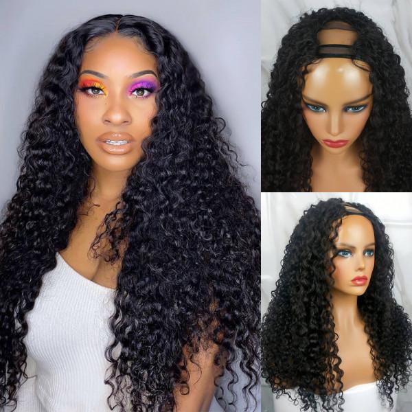 Curly U Part Wigs