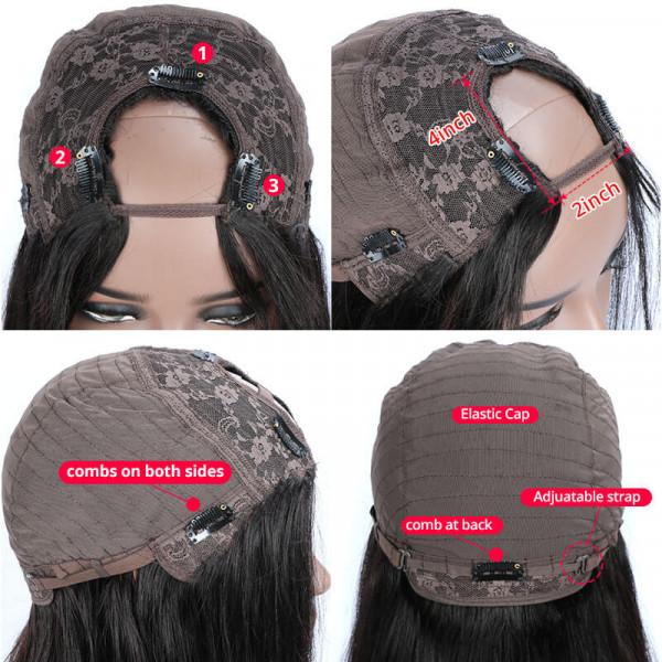 U Part lace wig