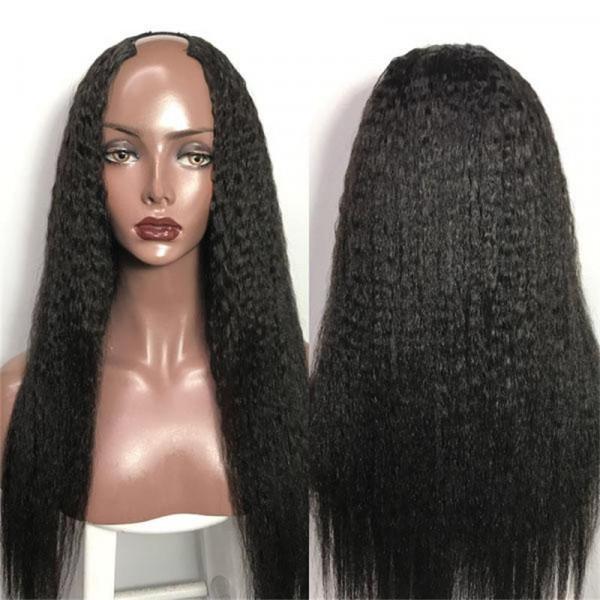 Straight U Part Wigs