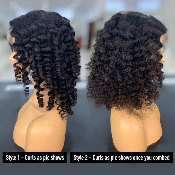 wand curl wig