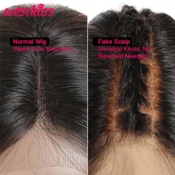 Fake Scalp Method Wigs