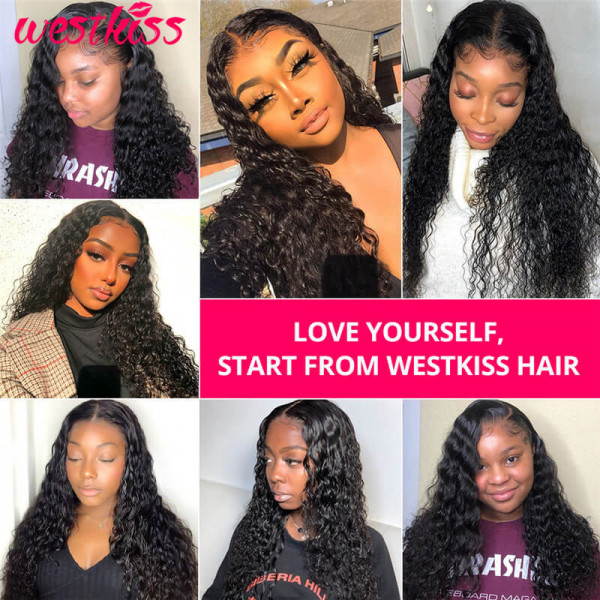 Water Wave 6*6 Closure Wigs