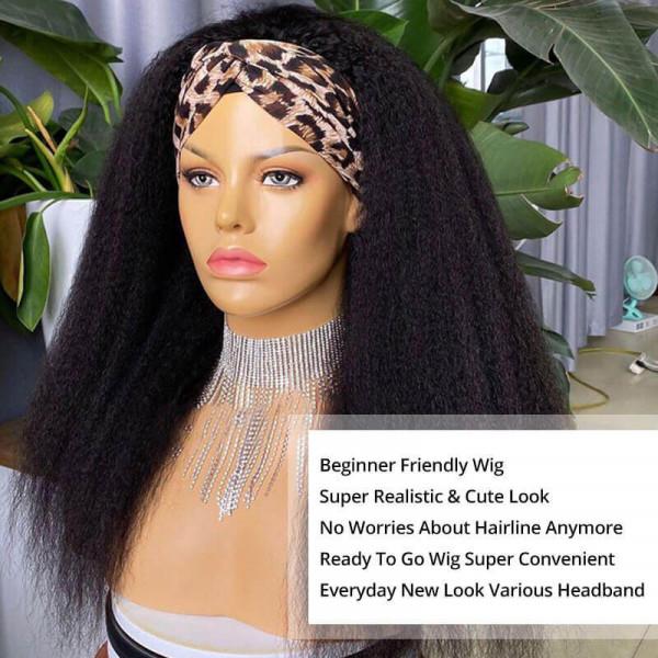 Half Headband Wigs