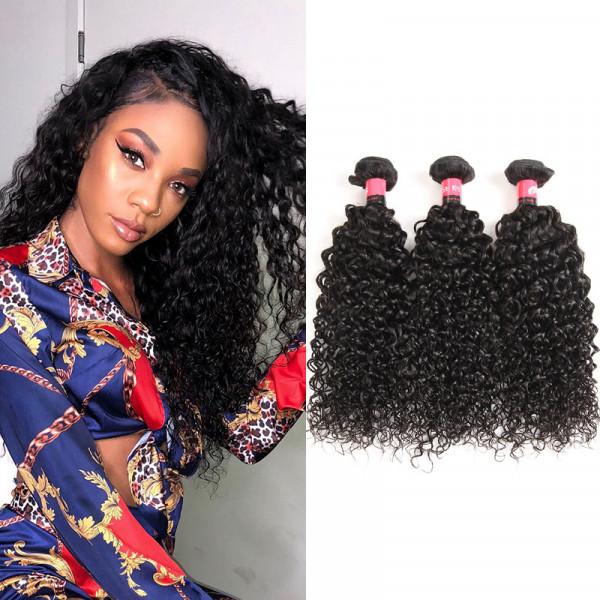 Kinky Curly 3 Bundles 9A Unprocessed Brazilian Virgin Hair