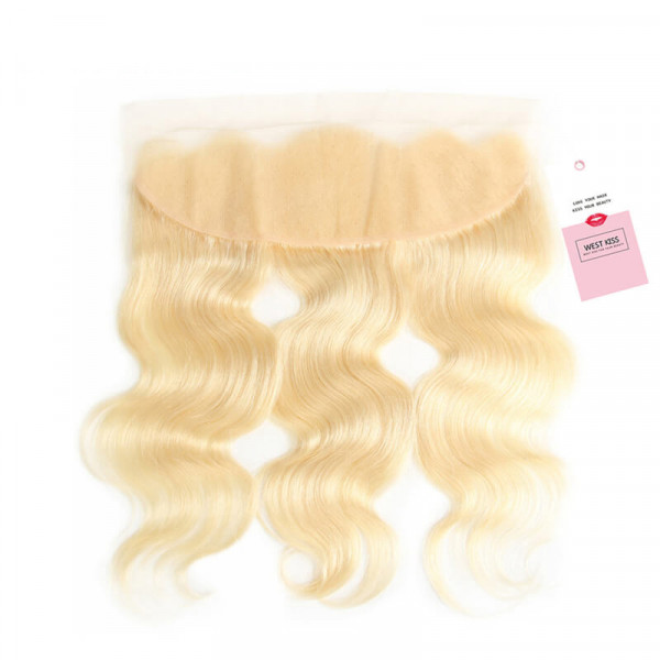 613 Color Body Wave 13*4 Ear To Ear Blonde Lace Frontal Closure