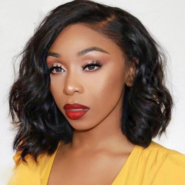 Body Wave Lace Front Bob Wigs Cheap Bob Lace Front Wigs With Baby Hair Short Wigs