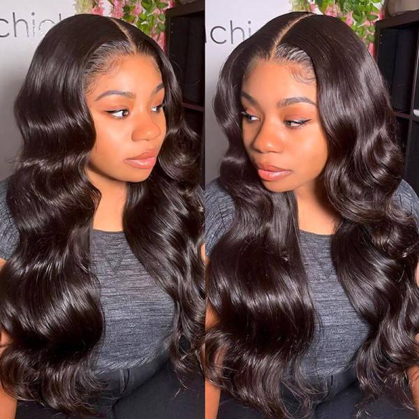 HD Lace Wigs Body Wave Transparent Wigs Brazilian Lace Front Wigs