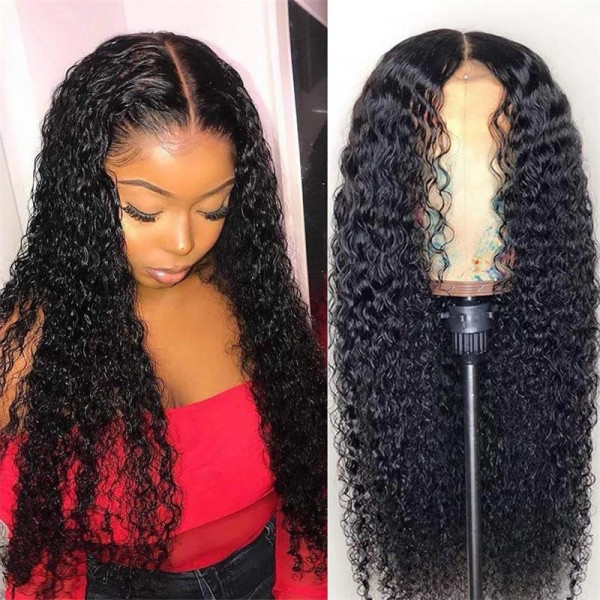 Curly Hair Wigs 13*6 Lace Front Wigs With Baby Hair Kinky Curly Lace Front Wigs For Black Women