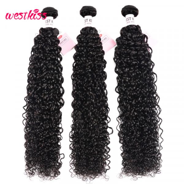 32-36 Inches 3 Bundles Curly Hair Long Weave Brazilian Human Hair Bundles Deal Kinky Curly Hair