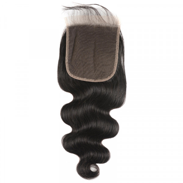 New Arrival Body Wave 5*5 Lace Closure With Baby Hair Human Hair Closure