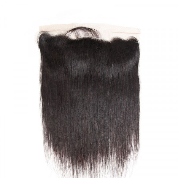West Kiss Brazilian Hair Straight Hair Frontal 13x4 Cheap Lace Frontals And Closures