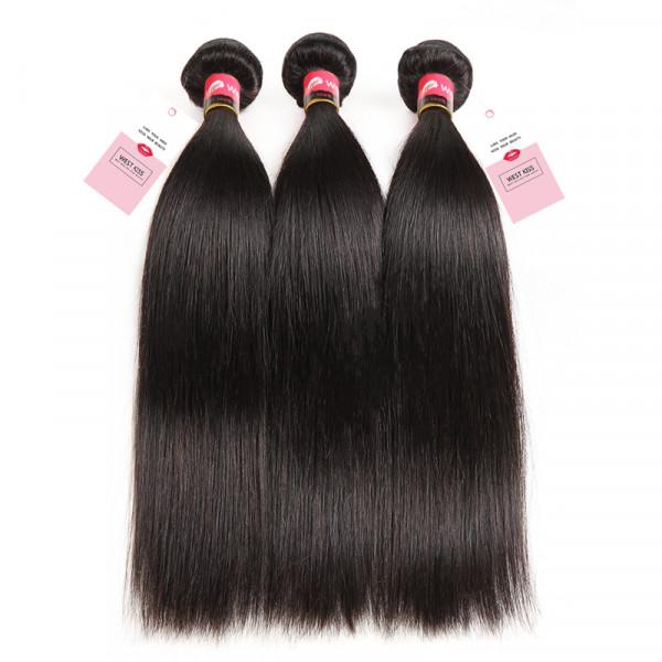 Virgin Human Straight Hair 3 Bundles/Lot Brazilian Hair Bundles Deal