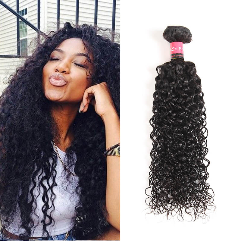 Brazilian Hair Bundles 1 Pc Only Curly Hair Weave Bundles West