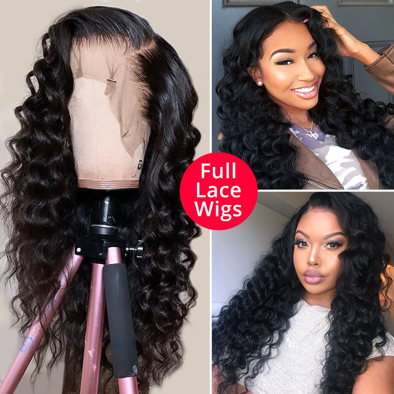 High Quality Wigs Loose Deep Wave Full Lace