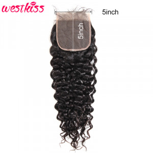 water wave 5*5 Lace Closure