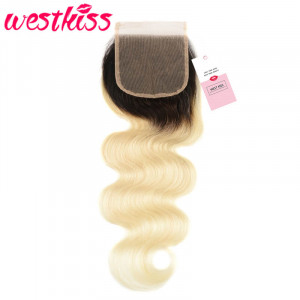 1B/613 4*4 Lace Closure