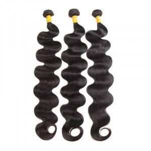 Brazilian Body Wave 3 Bundles Long Weave Hairstyles 32-40 Inches