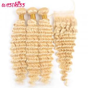613 Blonde Weave