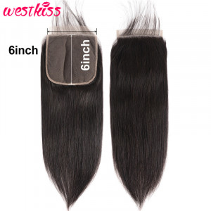 Straight Hair Lace Closures