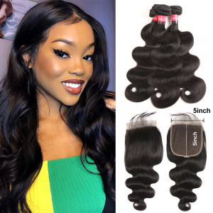 Hair Bundles And Closure