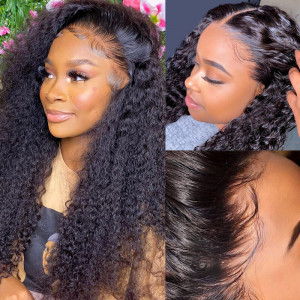 Curly Hair HD Swiss Lace Wigs