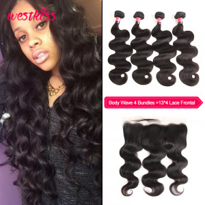 Human Hair Weaves 4 Bundles
