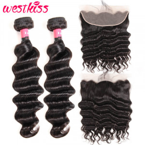 loose deep wave weave