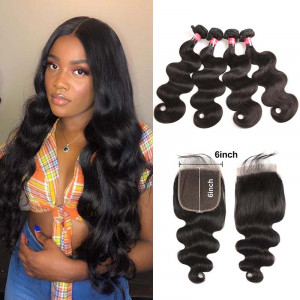 6*6 Inch Lace Closure