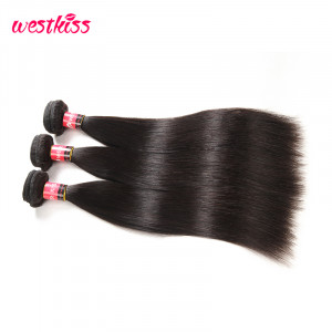 Malaysian Virgin Hair Straight Hair Bundles 3Pcs