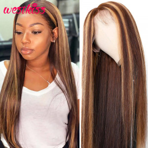 Colored Lace Front Wigs