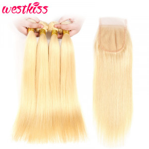 Brazilian Straight Hair 4Pcs