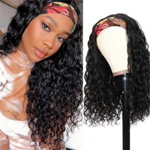 Headband Wigs Water Wave
