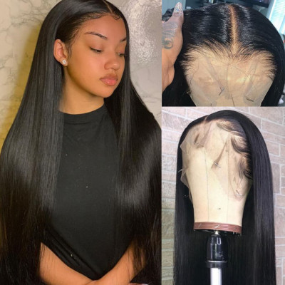 Transparent Wigs Brazilian Lace Front Wigs Straight Hair Body Wave Curly Hair Wigs