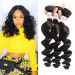 High Quality Loose Wave Weave 3 Bundles Human Hair Bundles Deal
