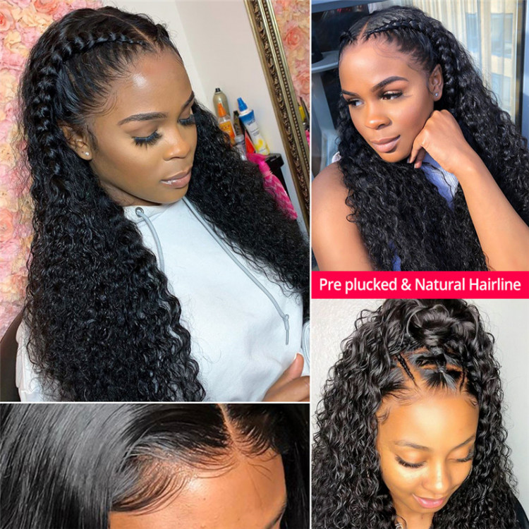 West Kiss Hair Tell You How to Sleep with a Curly Lace Front Wig? Curly_6x6_closure_wigs_3__2_3