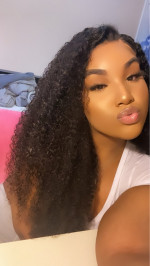 This hair is a must ! It's soft , she...