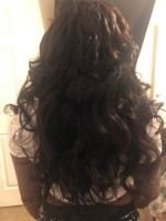 hair is very soft and silkywith littl...