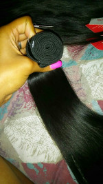 hair is super soft it came fast I don...