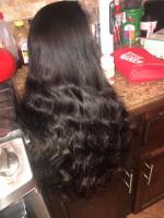 Hair is super soft && BOUNCY !!! Took...