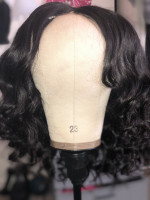 The hair is super soft. Great quality...