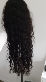 Beautiful hair, very very soft and si...