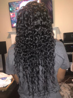 I'm truly pleased with my hair. The t...