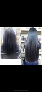 I LOVE THE HAIR, IT IS VERY SMOOTH AN...