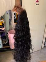 This item is beautiful , hair is soft...