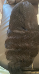 The hair was packaged very well!! It ...
