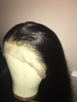 I just received my hair, I plucked th...