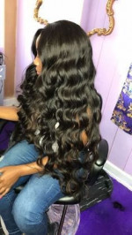 The quality of this hair is amazing s...