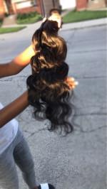 Very beautiful hair, corresponds to t...